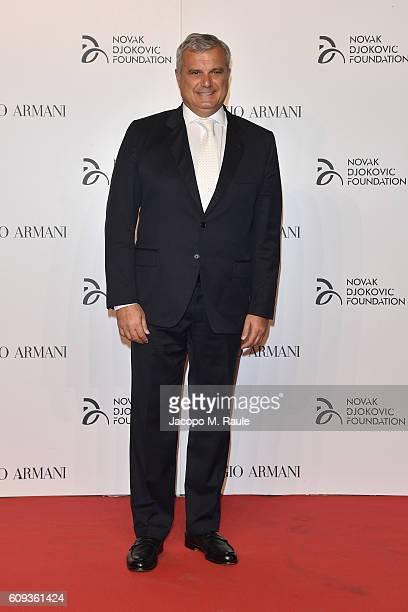 Sandro Campagna attends the Milano Gala Dinner benefitting the Novak Djokovic Foundation presented by Giorgio Armani at Castello Sforzesco on...