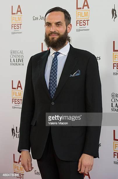 Sandro Kopp arrives at the 2014 Los Angeles Film Festival Opening Night Premiere Of 'Snowpiercer' at Regal Cinemas LA Live on June 11 2014 in Los...