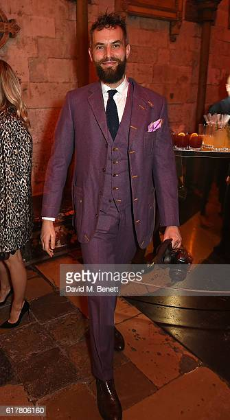 Sandro Kopp attends Marvel Studios and British GQ hosted reception in The Cloisters at Westminster Abbey to celebrate the release of Doctor Strange...