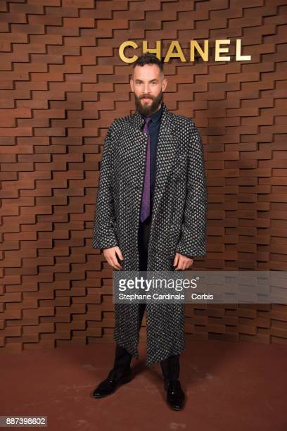 Sandro Kopp attends the Chanel Collection Metiers d'Art Paris Hamburg 2017/18 at The Elbphilharmonie on December 6 2017 in Hamburg Germany