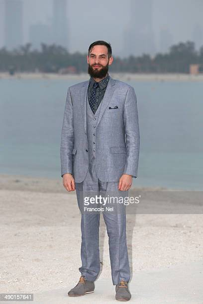Sandro Kopp attends the Chanel Cruise Collection 2014/2015 Photocall at The Island on May 13 2014 in Dubai United Arab Emirates