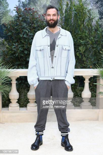 Sandro Kopp attends the Chanel Haute Couture Spring Summer 2019 show as part of Paris Fashion Week on January 22 2019 in Paris France