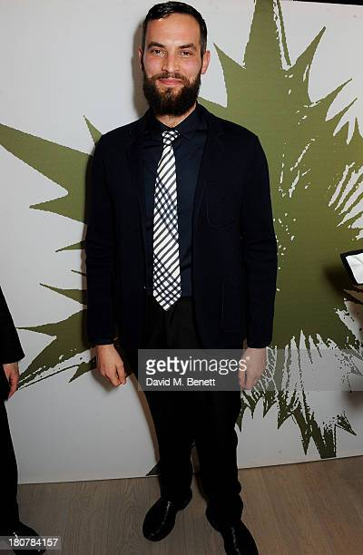 Sandro Kopp attends the Pringle of Scotland flagship store launch on September 16 2013 in London England