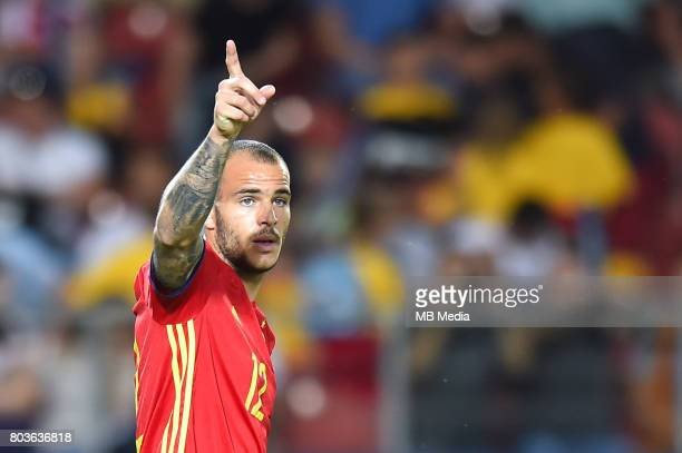 Sandro Ramirez during the UEFA European Under21 match between Spain and Italy on June 27 2017 in Krakow Poland