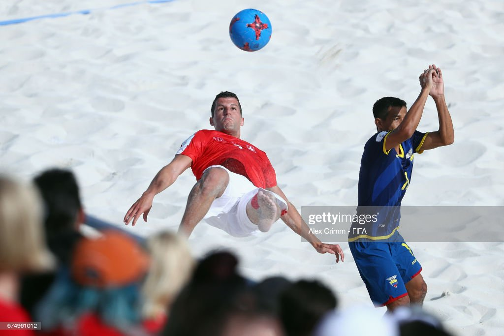 Switzerland v Ecuador - FIFA Beach Soccer World Cup Bahamas 2017 : News Photo