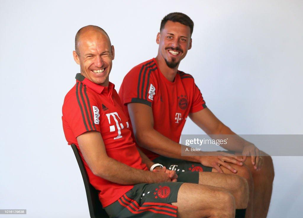 FC Bayern Muenchen Sponsors Media Day