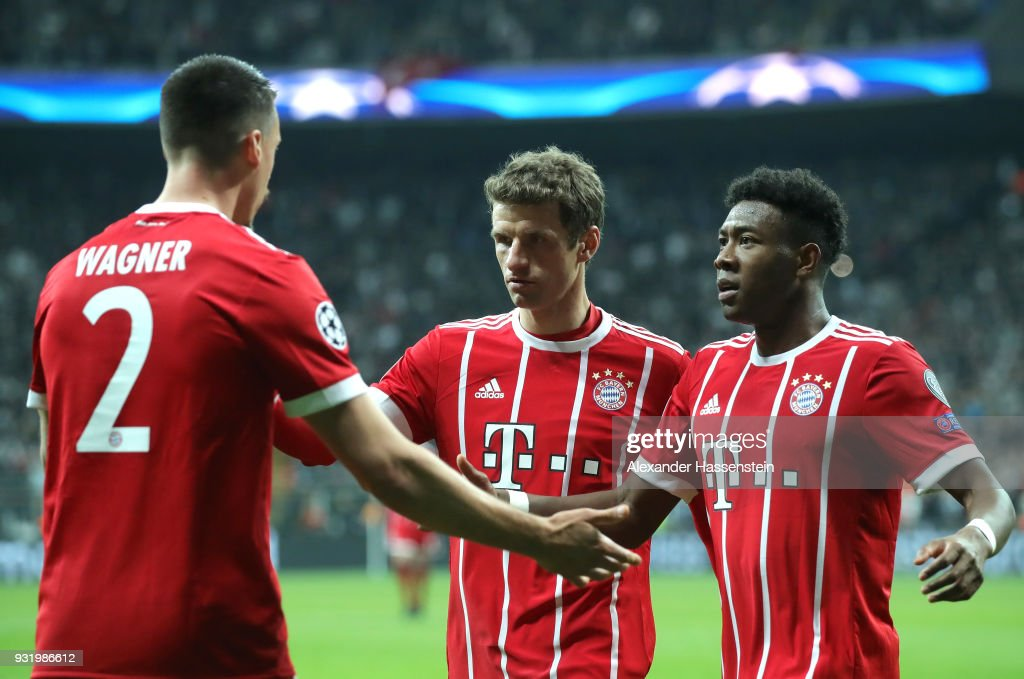 Besiktas v Bayern Muenchen - UEFA Champions League Round of 16: Second Leg : News Photo