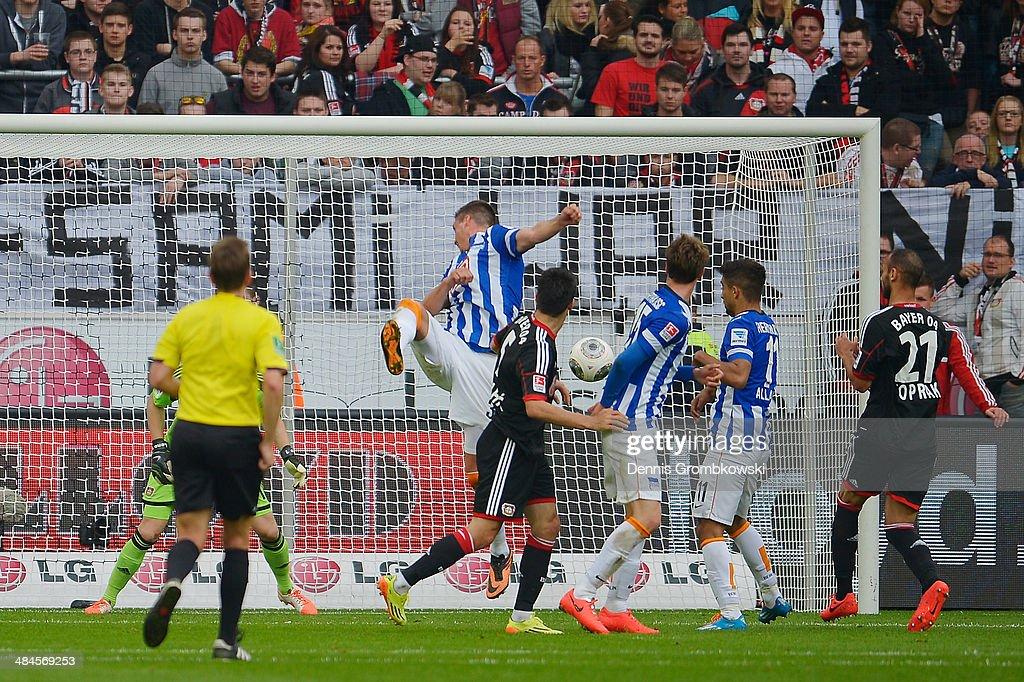 Bayer Leverkusen v Hertha BSC - Bundesliga : News Photo