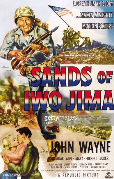 John Wayne bottom from left Adele Mara John Wayne 1949