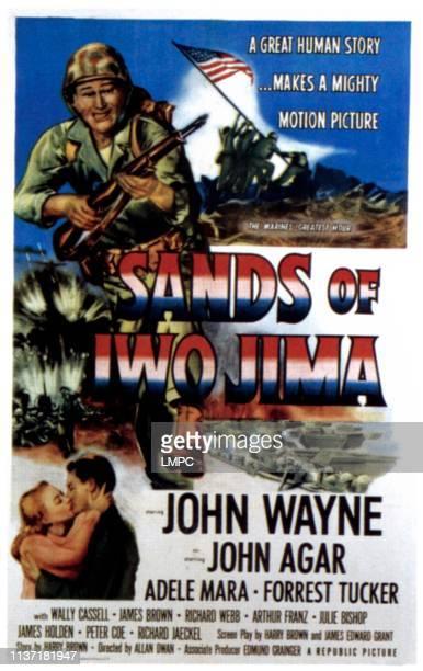 John Wayne bottom from left Adele Mara John Wayne on 1954
