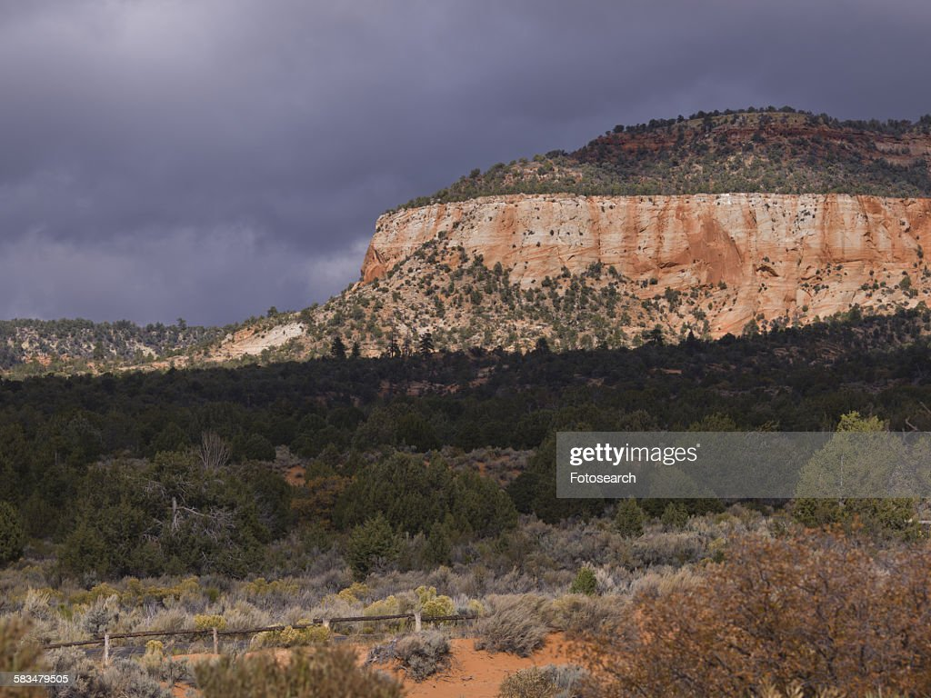 Sandstone cliffs : Stock Photo