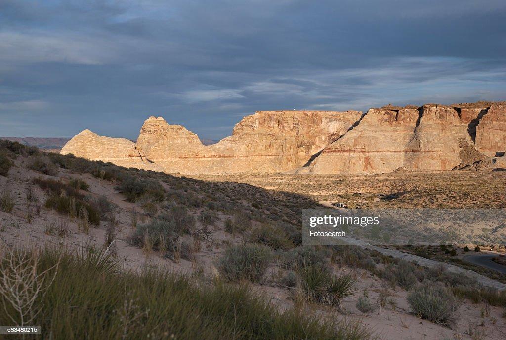Sandstone cliffs : Stock Photo