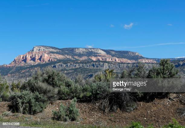Sandstone formations are shown here in the Grand StaircaseEscalante National Monument on May 11 2017 outside Escalante Utah The newly created Bears...