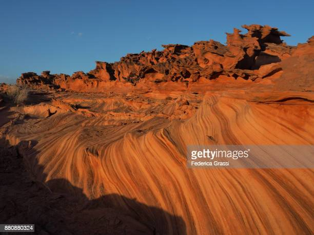 Sandstone Stripes In Little Finland, Nevada