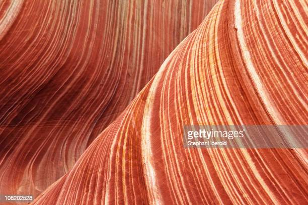 sandstone wave abstract - natural pattern stock pictures, royalty-free photos & images