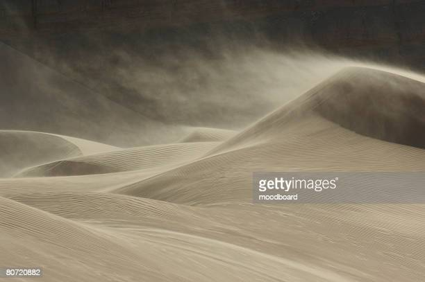 sandstorm in desert - dust storm stock pictures, royalty-free photos & images