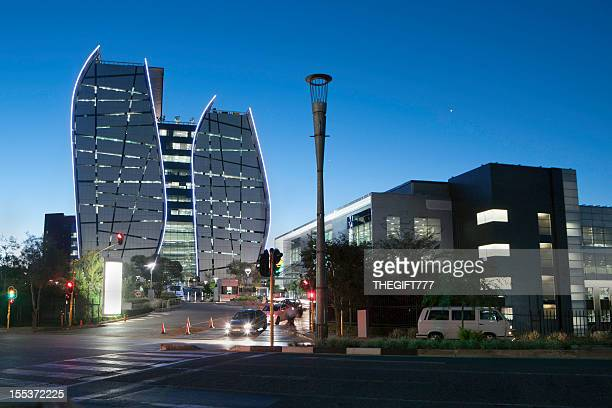 Sandton City buildings in South Africa