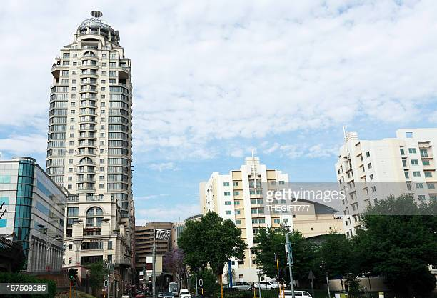 sandton city centre - sandton stock pictures, royalty-free photos & images