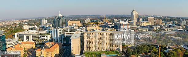 sandton city panorama - sandton stock pictures, royalty-free photos & images