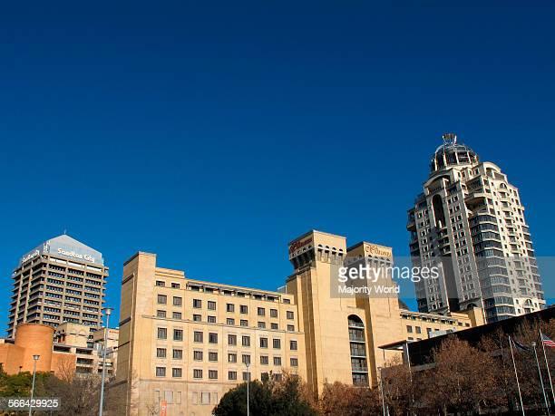 Sandton City skyline, Johannesburg.