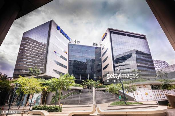 sandton city with santam and sanlam insurance building - sandton stock pictures, royalty-free photos & images