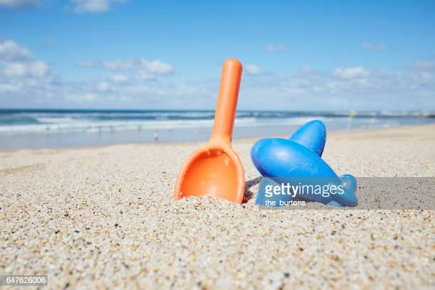 sandtoys on the beach