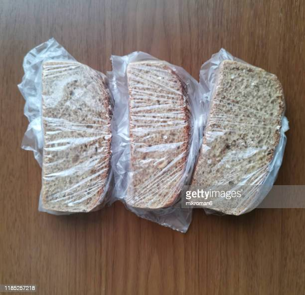 sandwich food packaging clear plastic bag - freshness stock pictures, royalty-free photos & images