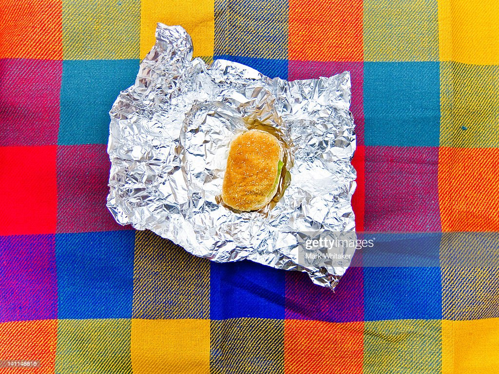 Sandwich On Picnic Blanket Stock Photo Getty Images