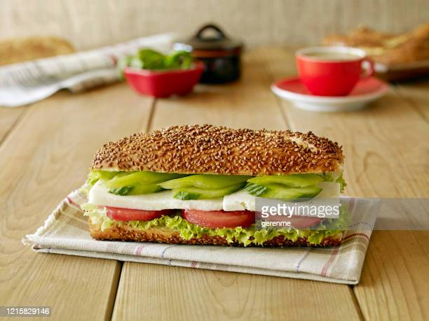 sandwich - feta cheese stock pictures, royalty-free photos & images