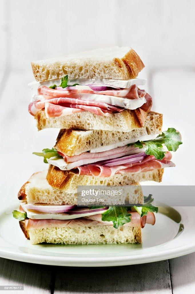 Sandwich : Foto de stock