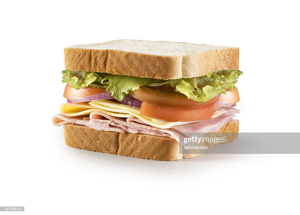 サンドイッチ、クリッピングパス : ストックフォト