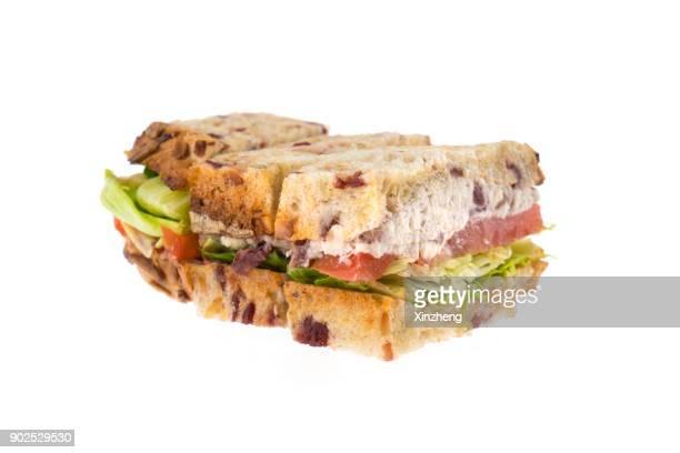 Sandwiches, Deli Meat Sandwich On Whole Grain Bread