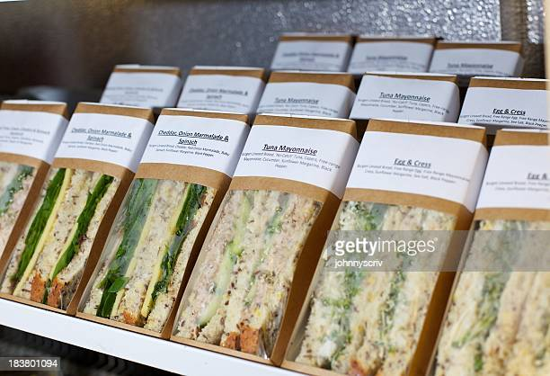 sandwiches... - packaging stock pictures, royalty-free photos & images