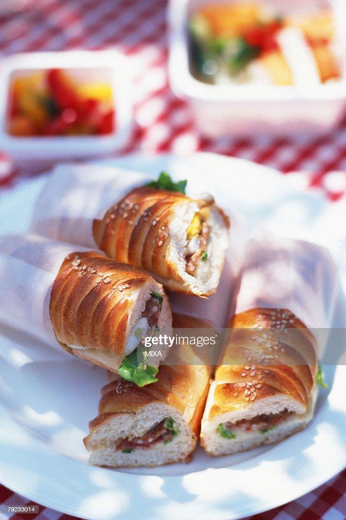 Sandwiches : Stock Photo