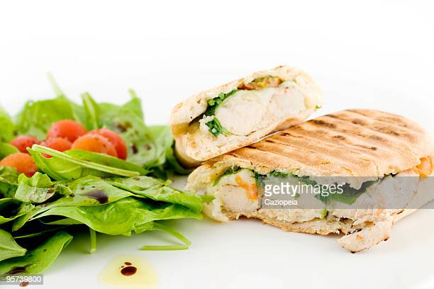 sandwiches - side salad stock pictures, royalty-free photos & images