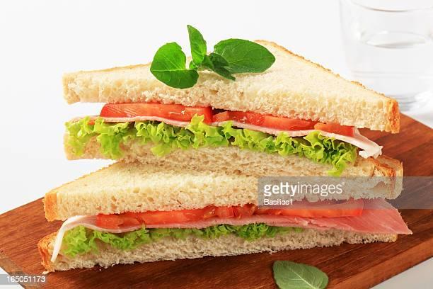 サンドイッチ(ハムと野菜