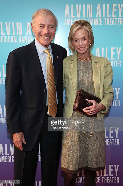 Sandy and Linda Lindenbaum attend the Ailey at the Apollo 2011 Spring Gala Benefit at The Apollo Theater on May 3 2011 in New York City