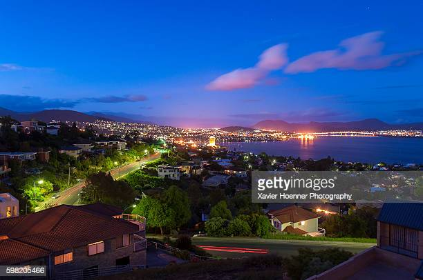 sandy bay | hobart | tasmania - hobart tasmania stock pictures, royalty-free photos & images