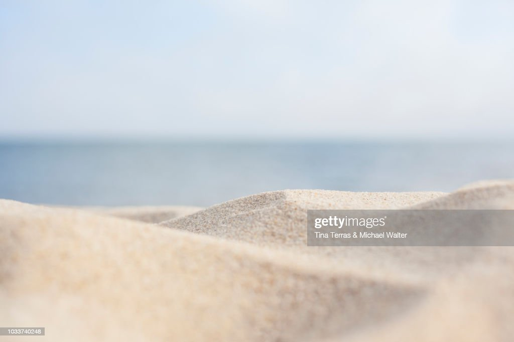 Sandy beach on the Isle of Sylt : Foto stock