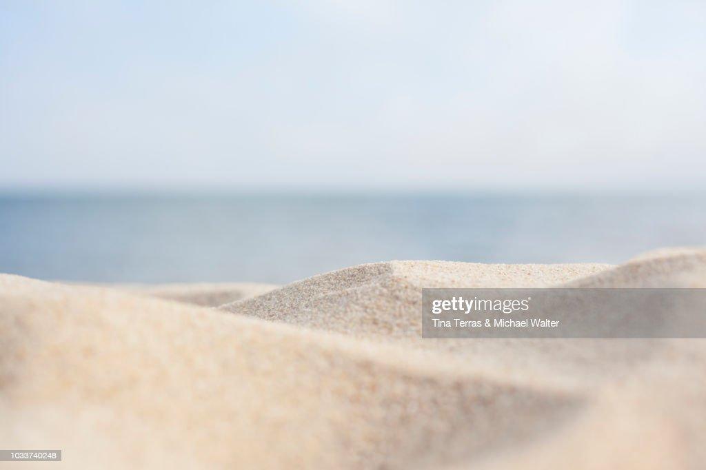 Sandy beach on the Isle of Sylt : Foto de stock