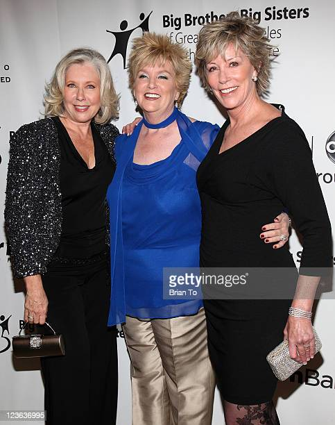 Sandy Bilson Mary Willard and Sarah Purcell attend Big Brothers Big Sisters 2010 Rising Stars Gala at The Beverly Hilton hotel on October 29 2010 in...