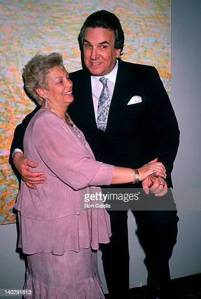 Sandy Cohen and Danny Aiello at the Motion Pictures Booker Club Gala Marriott Marquis Hotel New York City