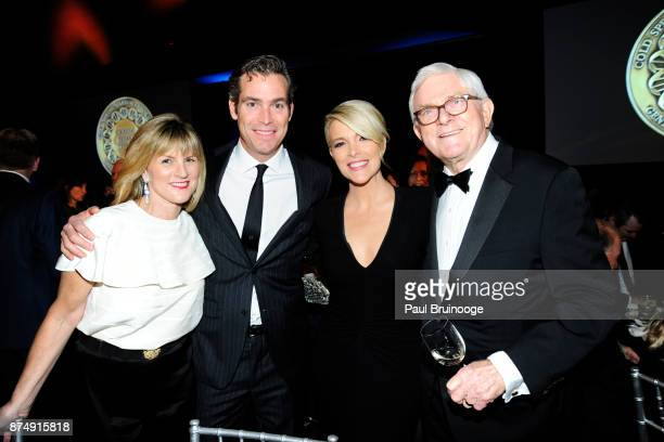 Sandy DeMille Douglas Brunt Megyn Kelly and Phil Donahue attend the Cold Spring Harbor Laboratory Double Helix Medals Dinner at the American Museum...