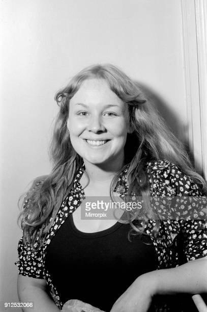 Sandy Denny top female singer at the Melody Maker Pop Poll Awards 15th September 1971