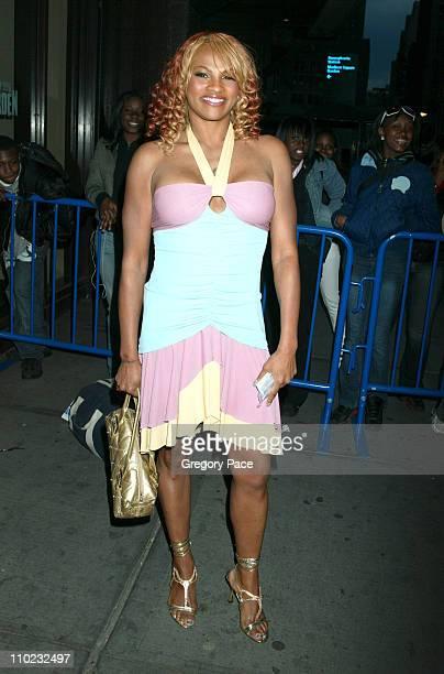"Sandy Denton, ""Pepa"" of Salt-n-Pepa, who is one of the cast members of MTV's ""The Surreal Life"""