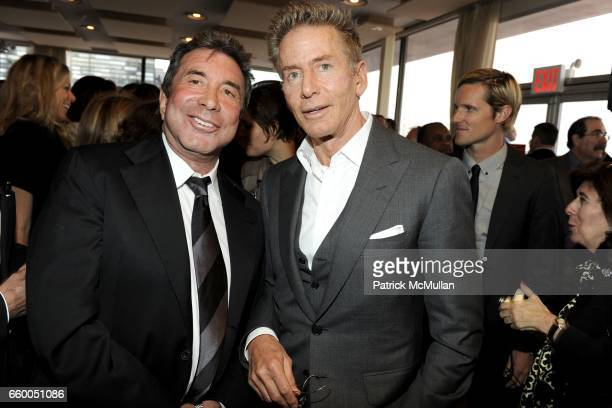 Sandy Gallin and Calvin Klein attend WELCOME TO GULU EXHIBITION AND BENEFIT ART SALE ANTIHUMAN TRAFFICKING INNITIATIVE at The United Nations on May...