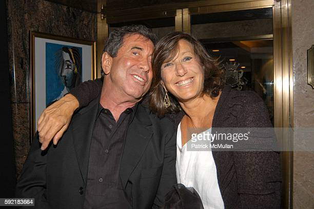 Sandy Gallin and Donna Karan attend Derek Anderson and Victor Kubicek Supper for Stevie Wonder and Kai Milla at The Carlyle on September 11 2005 in...