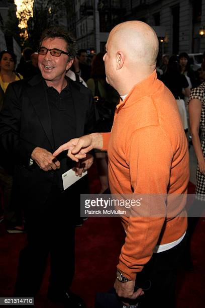 Sandy Gallin and Ronald Perelman attend HBO Documentary Films' New York Premiere of 'ROMAN POLANSKI Wanted and Desired' at The Paris Theater on May 6...