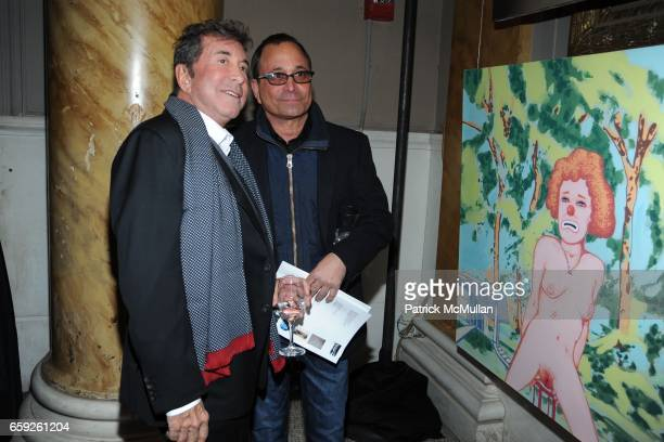 Sandy Gallin and Ross Bleckner attend ARMITAGE GONE DANCE Think Punk Gala at Capitale on February 3 2009 in New York City