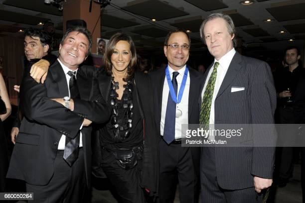 Sandy Gallin Donna Karan Ross Bleckner and Patrick McMullan attend WELCOME TO GULU EXHIBITION AND BENEFIT ART SALE ANTIHUMAN TRAFFICKING INNITIATIVE...